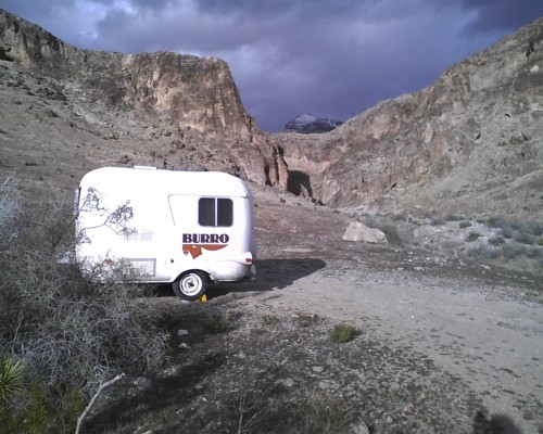 Camping on the Mohave Desert